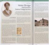 Czytaj więcej: Helen Bridge i Warszawska Szkoła Pielęgniarstwa - Magazyn Pielęgniarki i Położnej, Nr 9 / 2011